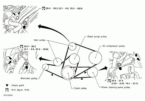 2000 nissan altima serpentine belt diagram wiring diagrams