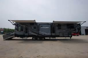 2016 cyclone 4100 5th wheel toy hauler camper by heartland rv