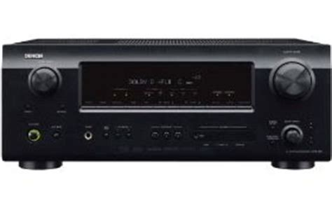 Small Footprint Home Theater Receiver Denon Avr 589 375 Watt 5 1 Channel Home