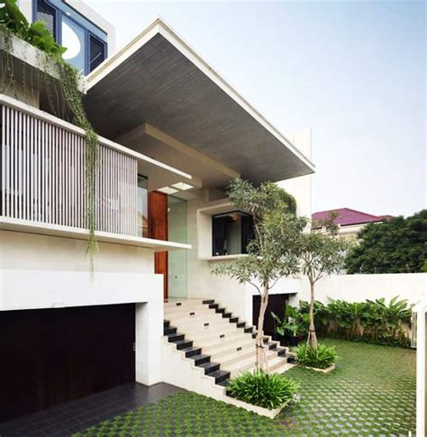 design house indonesia modern family house static house jakarta indonesia