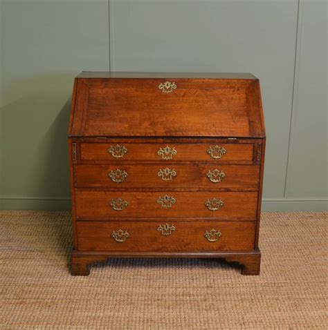 bureau qualité quality george iii walnut antique bureau 288897