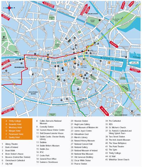 map of dublin map of dublin dublin maps mapsof net