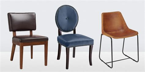 Dining Room Chairs Leather 13 Best Leather Dining Room Chairs In 2018 Leather Side Arm And Dining Chairs
