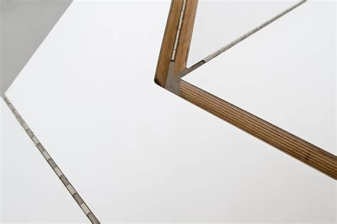 Origami Piano Bench - origami bench by blacklab architects inc inspirationist
