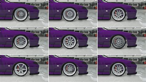 Wheel Pack stretched tire wheel pack vehicules pour gta v sur gta