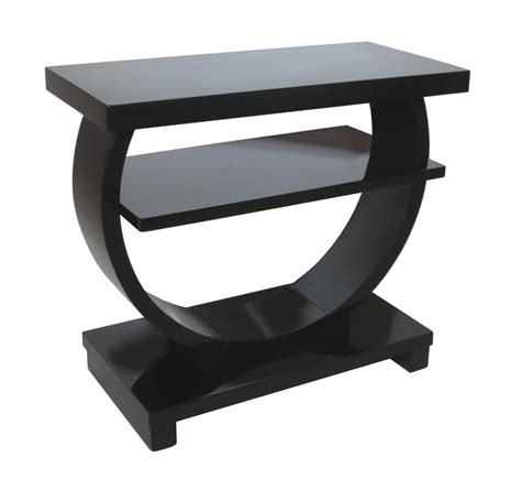 17 best images about black side tables on pinterest modernage american art deco black lacquer side table