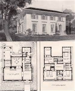 italian house plans italian renaisance style house 1916 ideal homes in