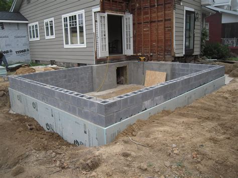 How To Build A Cinder Block Foundation For A Shed by Block Foundation Adventures In Remodeling