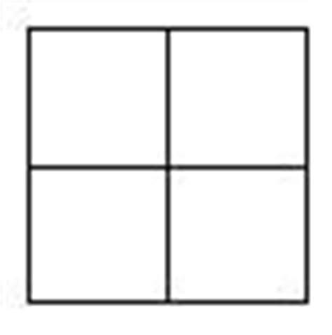 Punnett Square Template by Blank Punnett Squares