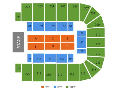 bancorpsouth arena seating map bancorpsouth arena seating chart and tickets formerly