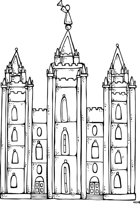 Salt Lake Temple Coloring Page free coloring pages of salt lake city temple