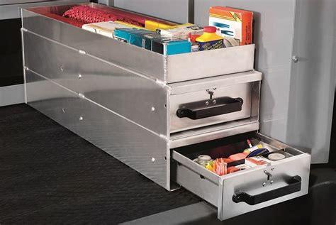 van storage drawers commercial van equipment shelving ladder racks drawers