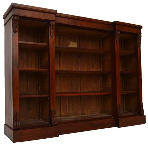 Mahogany Bookcase For Sale Antique Victorian Mahogany Vintage Bookshelves For Sale