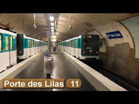 metro porte des lilas porte des lilas ligne 11 m 233 tro de ratp mp59