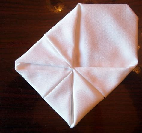 cloth napkin origami folding cloth table napkins 7