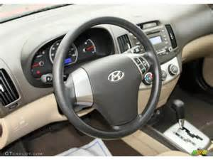 Hyundai Elantra Steering Wheel 2010 Hyundai Elantra Gls Beige Steering Wheel Photo