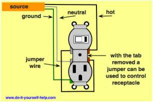 switched and unswitched outlets electrical diy