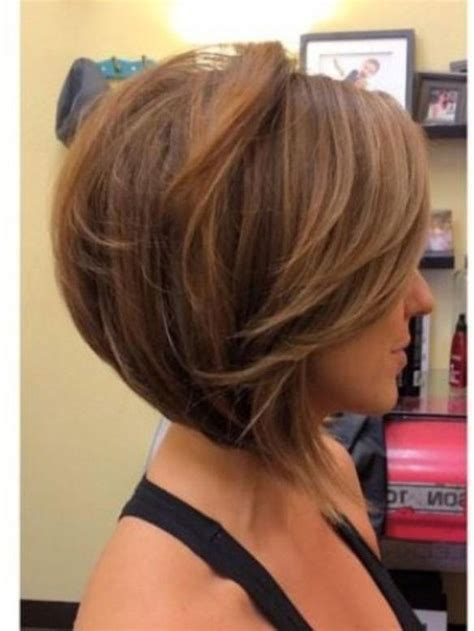 medium length bobs for fine hair short in back long in front inverted bob hairstyle for fine hair hairstyles