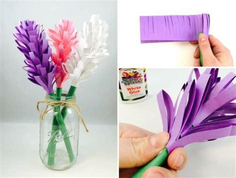 blumenstrauß aus papier basteln papierblumen basteln mit kindern sch 246 ne ideen und