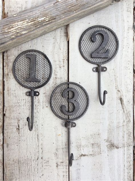 number hooks wall hooks nursery room children s by