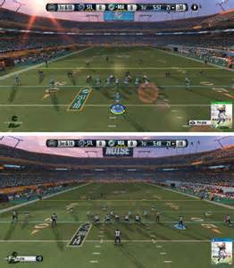 Madden nfl 15 lighting is much better in xbox one than ps4