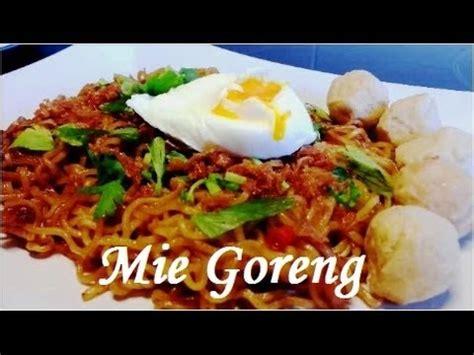 membuat mie goreng dengan indomie cara membuat mie goreng dari indomie rebus youtube