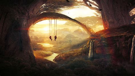 the swing art space fantasy 171 awesome wallpapers