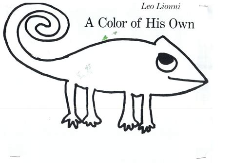 a color of his own leo lionni quot a color of his own quot for my author study