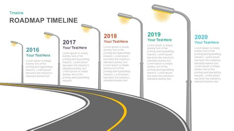 Timeline Roadmap Powerpoint Template And Keynote Slide Slidebazaar Powerpoint Roadmap Template