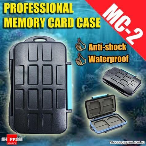 Diskon Jjc Mc 2 Memory Card for 4 x cf 8 x sd professional anti shock waterproof dc