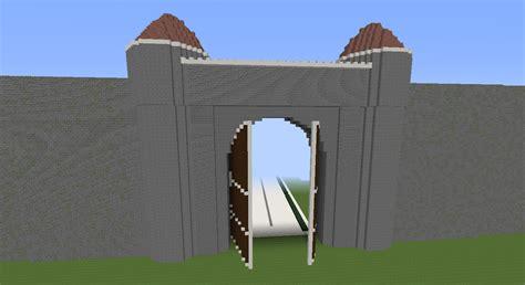 Fence Door Minecraft by Minecraft Sao