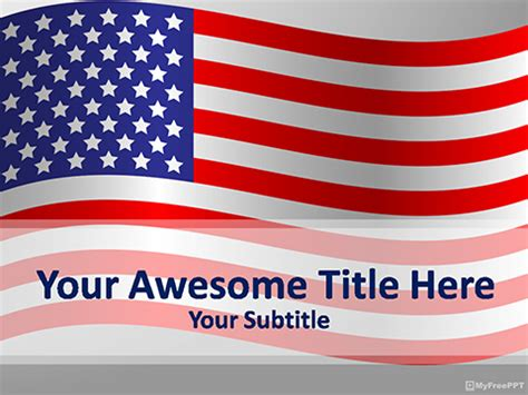 templates powerpoint usa free american powerpoint templates myfreeppt com