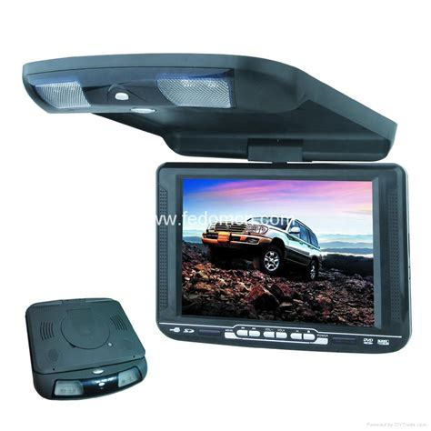 Tv Mobil 10 4inch roof monitor dvd player fd 104 fedom hong