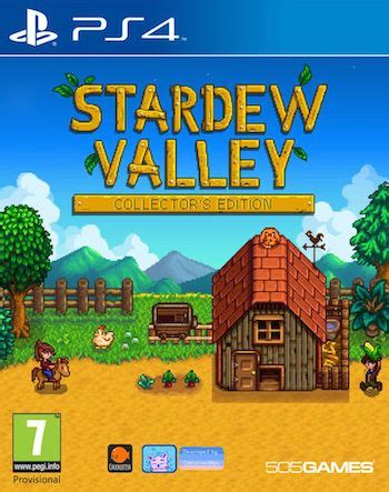 Kaset Ps4 Stardew Valley Collector S Edition stardew valley collector s edition ps4 163 11 49 click collect frugal gaming