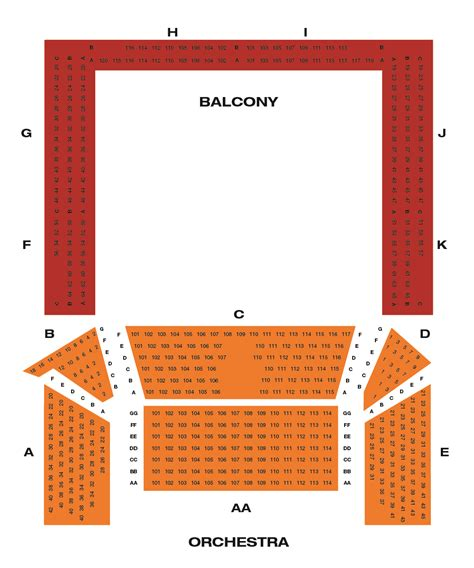 charles playhouse seating chart boston ma charles playhouse theaters broadway in boston