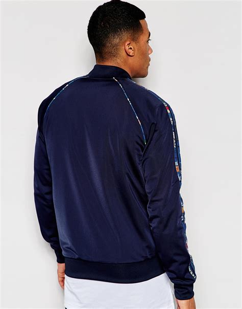 Original Adidas Zne Reversible Not Nike adidas originals reversible track jacket with shoebox