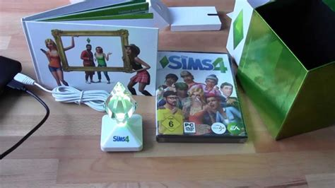 sims 4 plumbob ls unboxing die sims 4 collector s edition mit plubbelbums