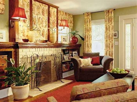 Color Home Decor Fall Decorating Ideas Softening Rich Hues In Modern