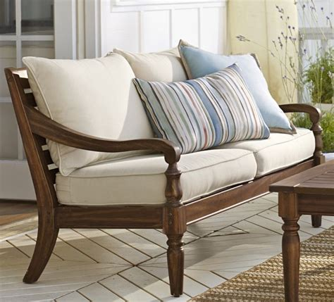 pottery barn outdoor sofa faraday outdoor sofa cushion home furniture
