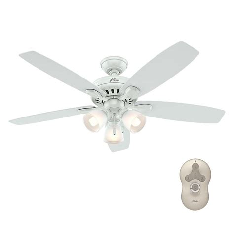 highbury ceiling fan highbury 52 in indoor white ceiling fan with light