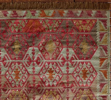 Kilim Outdoor Rug Tauna Recycled Yarn Kilim Indoor Outdoor Rug Mediterranean Outdoor Rugs By Pottery Barn