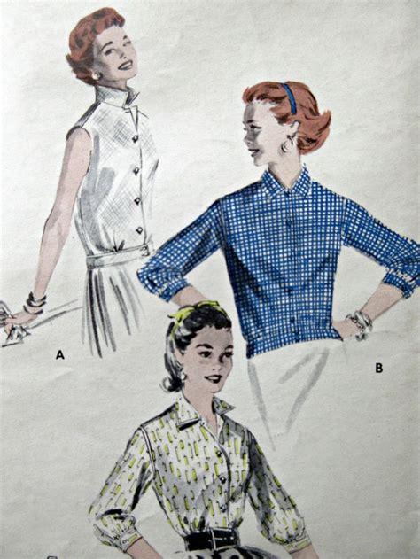 Retro Pattern Blouse 217211 134 best vintage 1950s sewing patterns images on vintage sewing patterns 1950s