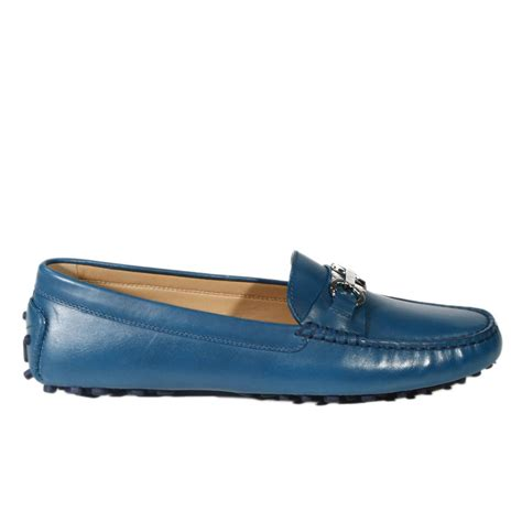 blue ferragamo loafers ferragamo shoes saba loafer leather gommini morsetto in
