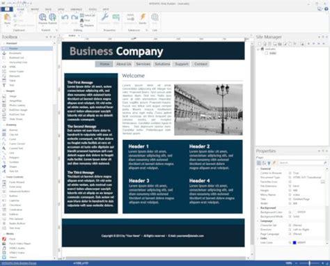 Responsive Web Design In Wysiwyg Web Builder Wysiwyg Web Builder Responsive Templates