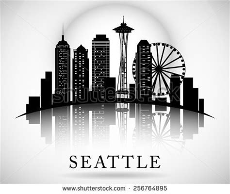 seattle skyline clipart clipart suggest