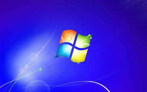 wallpaper blank windows 7 windows 7 blue backgrounds wallpaper cave