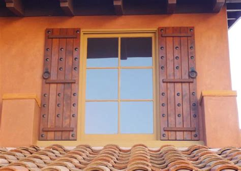 decorative windows for homes 17 best images about wooden shutters on pinterest