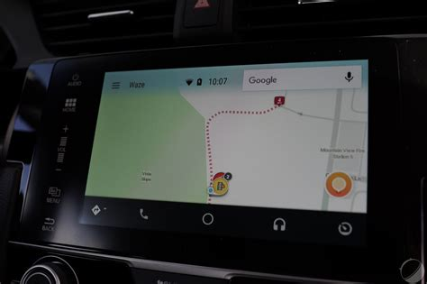 waze android waze sur android auto les premi 232 res images de l interface electro clinic