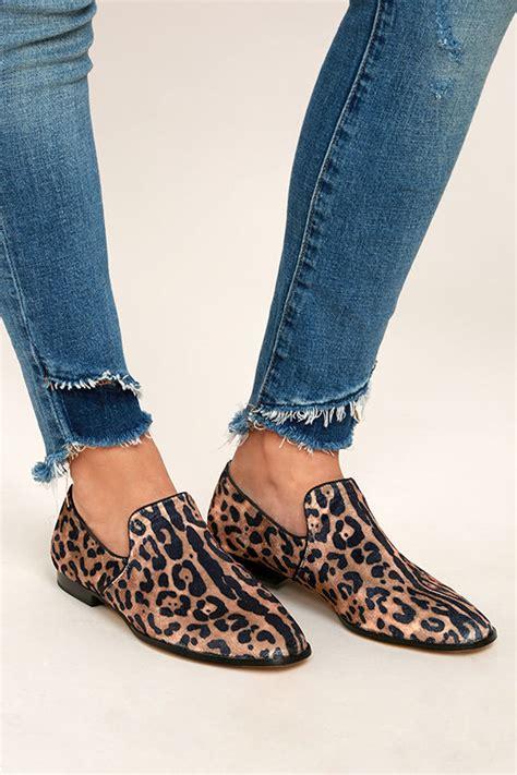 steve madden leopard print loafers steven by steve madden leopard velvet loafers