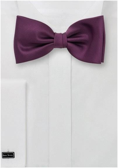 wine colored bow tie mens bow tie in wine